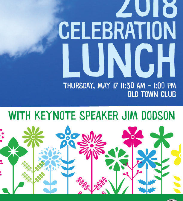 Tickets for the 2018 Celebration Lunch Are Now On Sale!