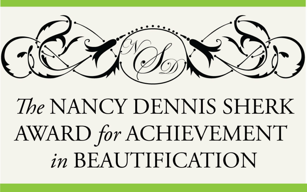 Nominate Your Garden Club for the Nancy D. Sherk Award