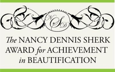 Nominate Your Garden Club for the Nancy D. Sherk Award