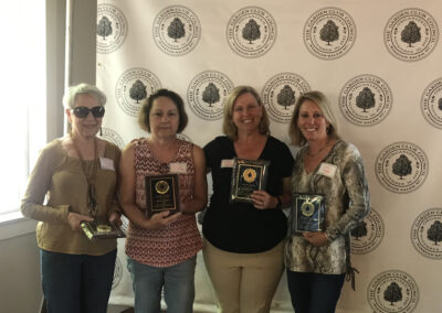 2019 Order of the Rose Recipients Mary Audrey Apple, Donna Millikin, Ellen Bassett & Lynn Segal (not pictured: Anne Sullivan)