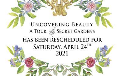 Garden Tour and Luncheon Postponed