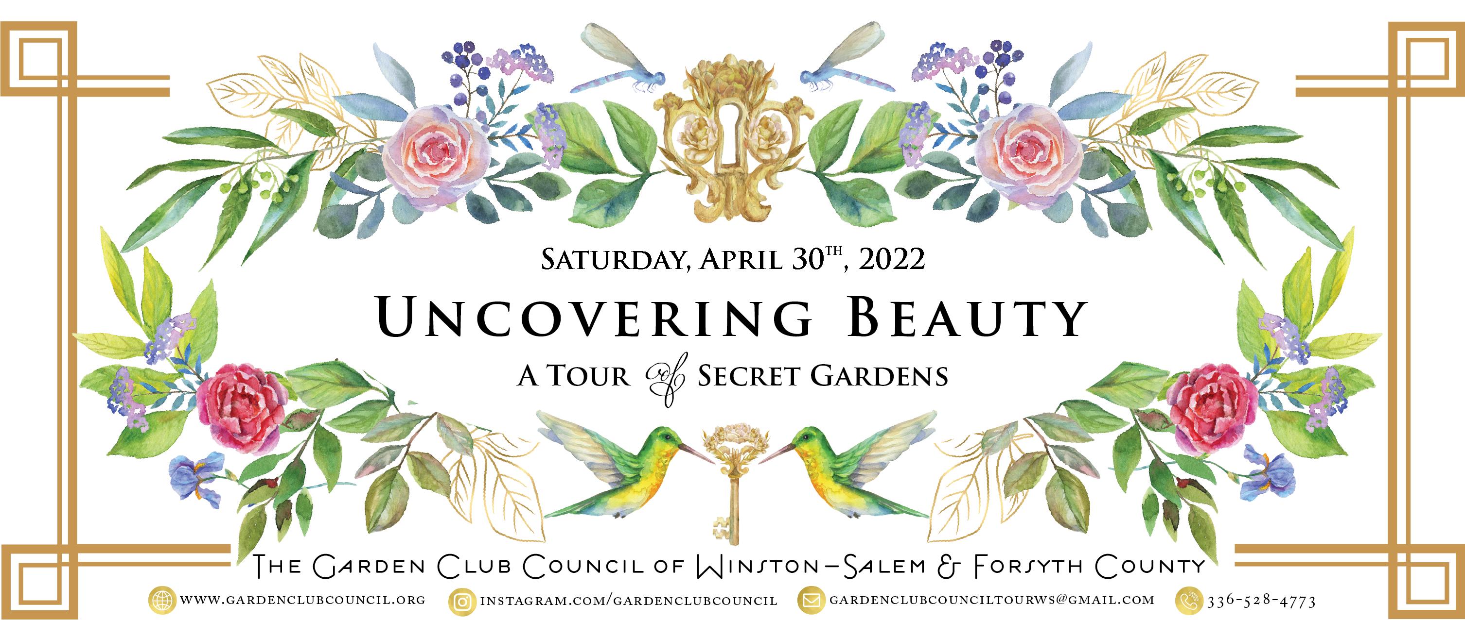 Garden Tour Banner